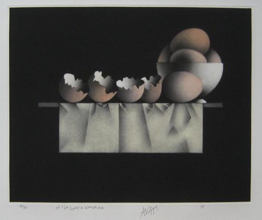 Mario AVATI - Druckgrafik-Multiple - GRAVURE 1975 SIGNÉE AU CRAYON NUM/85 HANDSIGNED ETCHING