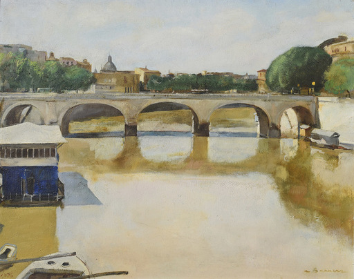 Antonio BARRERA - Peinture - Ponte Cavour