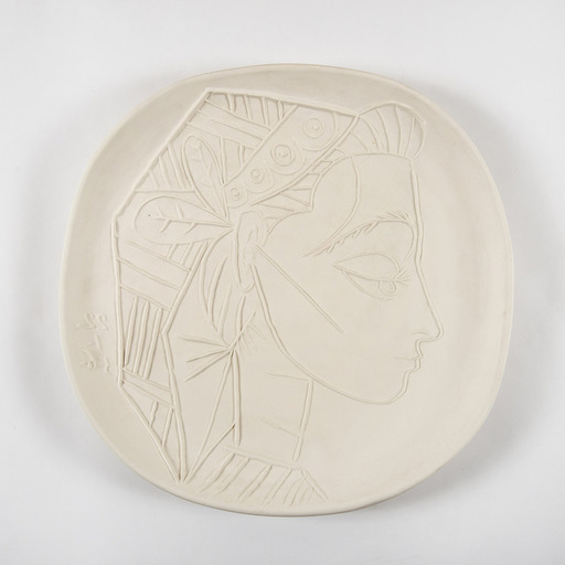 Pablo PICASSO - Ceramic - Profil de Jacqueline