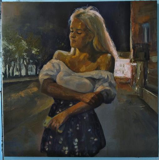 Ohanyan KAMSAR - Peinture - The peacful evening