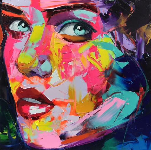 Françoise NIELLY - Painting - Colombe