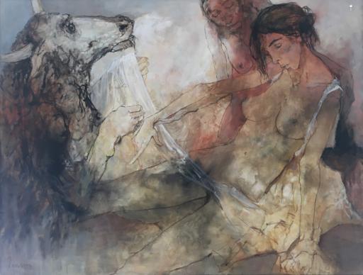 Jean JANSEM - 绘画 - Le Minotaure