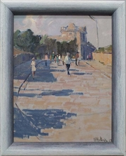 "Vladimir NOVAK - Painting - ""Motive of Odessa"" by Vladimir Novak"