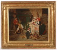 """Alexandre Marie GUILLEMIN - Pintura - """"Grandfather's bag"""""""