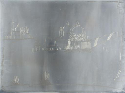 Remo BRINDISI - Painting - La salute Venezia