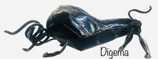 DIGEMA - Sculpture-Volume - Toro bravo (VENDUE)