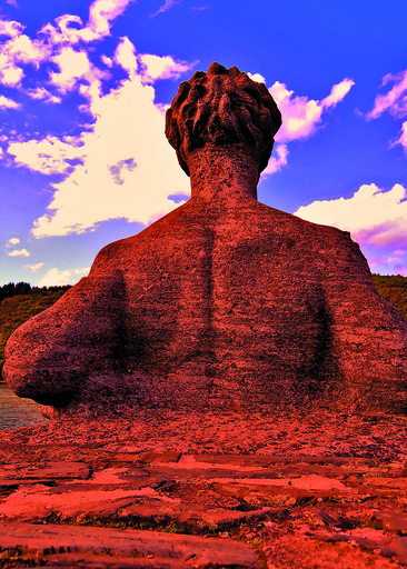 Sigrun NEUMANN - Print-Multiple - Stone man