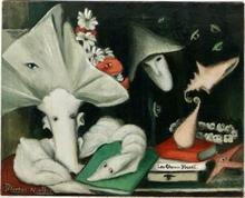 Jeanne PELISSON-MALLET - Pintura - les choses voient