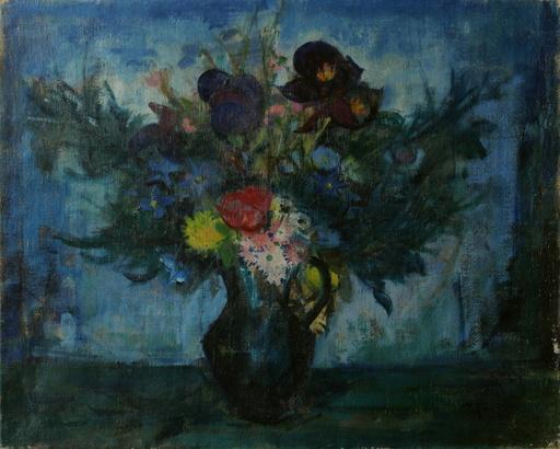 José PALMEIRO - Pintura - Vase de fleurs