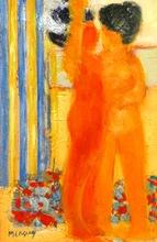 Frédéric MENGUY - Pintura - *Desbedrillage Nom Le Bain