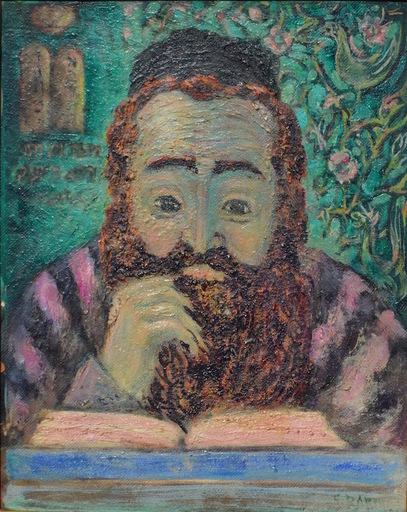 Saul Jacobs RABINO - Painting