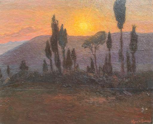 Algero CANTINI - Gemälde - Tramonto