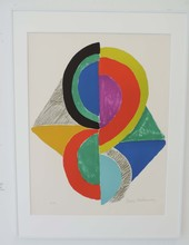 Sonia DELAUNAY-TERK (1885-1979) - Losange