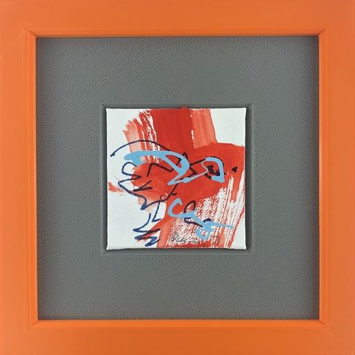 Nicole LEIDENFROST - Gemälde - Jagender Falke