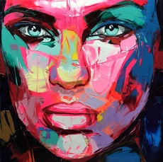 Françoise NIELLY - Painting - One Day