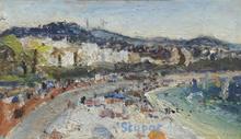 Marko STUPAR (1936) - La plage de Cannes