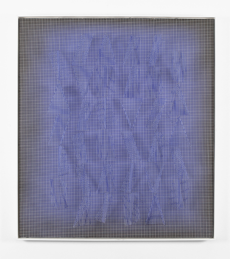 Ivan CONTRERAS-BRUNET - Sculpture-Volume - indigo-cobalt