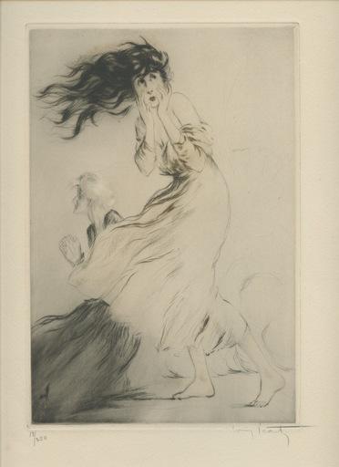 ルイ・イカール - 版画 - GRAVURE 1917 SIGNÉ AU CRAYON NUM/250 HANDSIGNED ETCHING