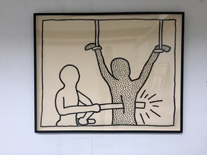 Keith haring the blueprint drawings 1593735 marketplace keith haring print multiple the blueprint drawings malvernweather Image collections