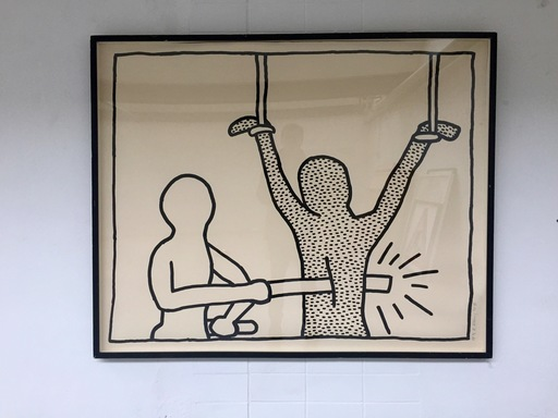 Keith HARING - Grabado - The Blueprint Drawings