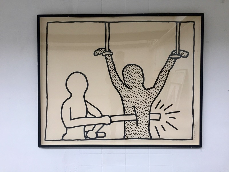 Keith haring the blueprint drawings 1593735 marketplace keith haring print multiple the blueprint drawings malvernweather Gallery