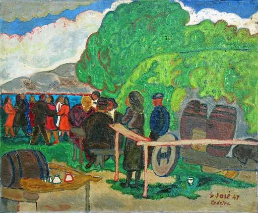 Francisco SAN JOSÉ - Painting - Cedeira