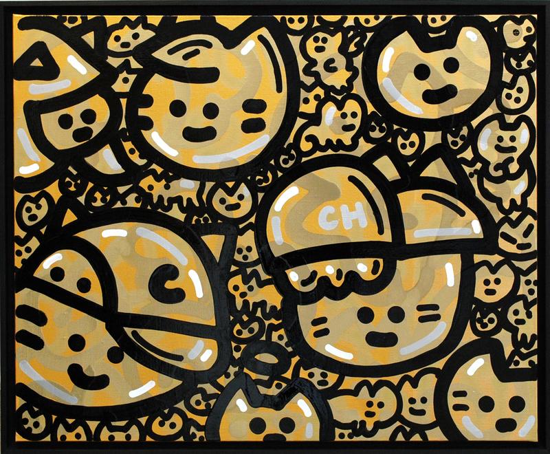 CHANOIR - Peinture - Chas Or Noir