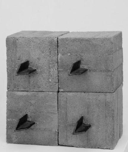 Mauro STACCIOLI - 雕塑 - Barriera