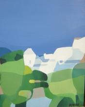 Freddy DEFOSSEZ - Painting - Paysage du Var