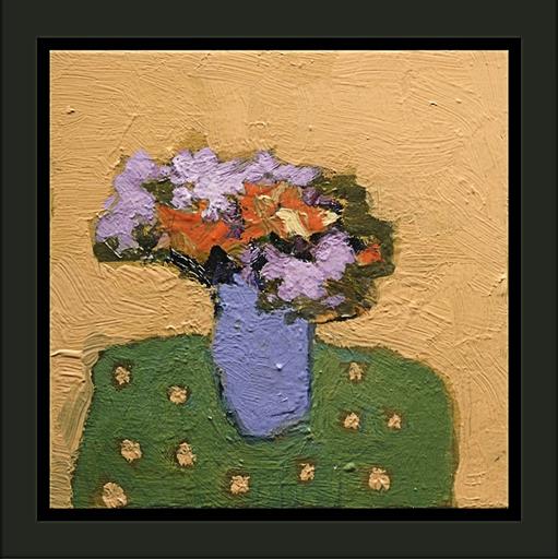 Jennifer HORNYAK - Pintura - Naples Yellow with Lavender