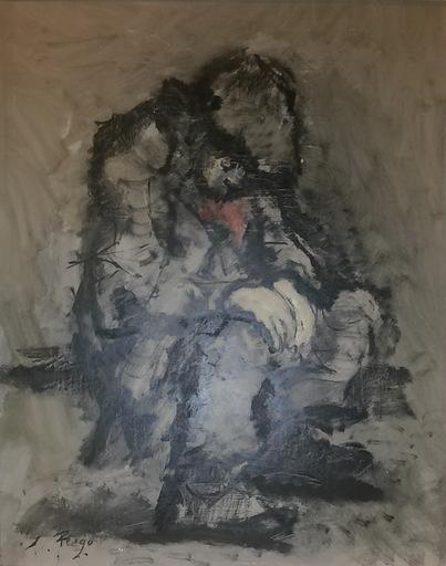 Manuel PREGO DE OLIVER - Pittura - niño mendigo