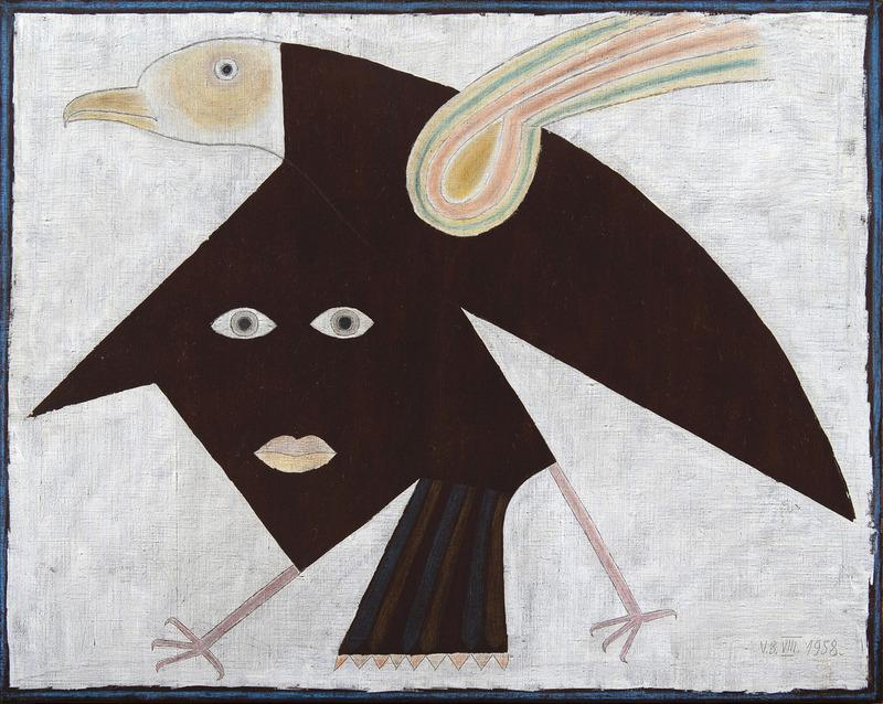 Victor BRAUNER - Painting - Envolement