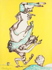 Ernst Iosipovitch NEIZVESTNY - Painting - Chimeras