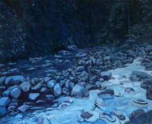 Bruno GADENNE - Pintura - la confluence