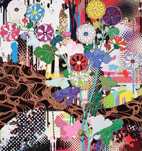 Takashi MURAKAMI - Grabado - Korin: Kyoto