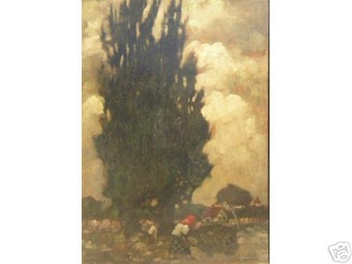Max BAUMANN - Peinture - Landscape