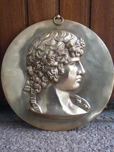 Ferdinand BARBEDIENNE - 雕塑 - Antinoüs d'après l'antique