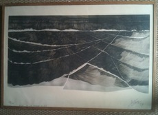 Henri-Georges ADAM - 版画 - Anse de la Torche n°12
