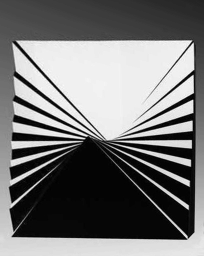 Marcello MORANDINI - Scultura Volume - Struttura 478B