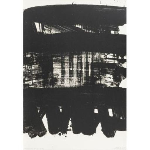 Pierre SOULAGES - Stampa Multiplo - Lithograph n°21