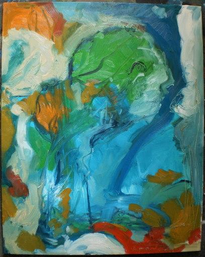 Bernard MOREL - Painting - PEINTRE