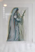 萨尔瓦多·达利 - 版画 - SERIE LA DIVINA COMEDIA EPOCA AZUL