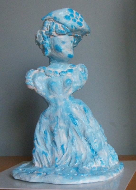 ATCHAMA - Sculpture-Volume - la voyante