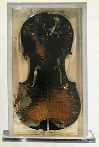 Fernandez ARMAN - Sculpture-Volume - The last violin