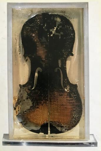 Fernandez ARMAN - Sculpture-Volume - The last violin