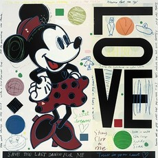 David SPILLER - Print-Multiple - Minnie - LOVE