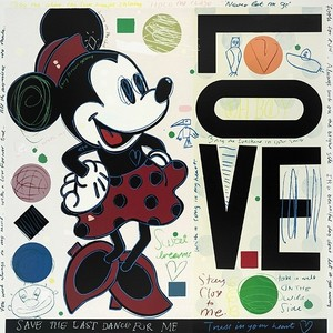 David SPILLER - Stampa Multiplo - Minnie - LOVE