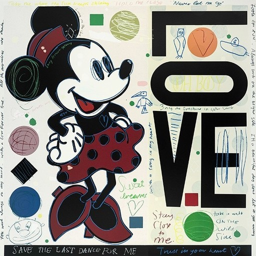 David SPILLER - Print-Multiple - Minnie - LOVE