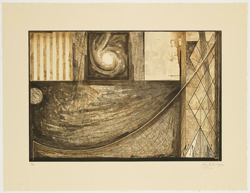 Jasper JOHNS - Druckgrafik-Multiple - Untitled