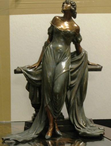 Louis ICART - Sculpture-Volume - Werther